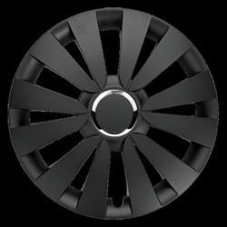SKY BLACK hjulkapsel sæt 14