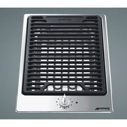 SMEG PGF30B domino grill