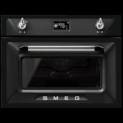 Smeg Victoria kompakt ovn (sort)