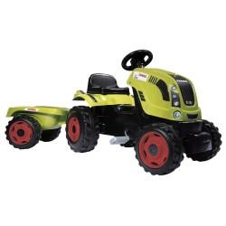 Smoby Claas traktor med anhænger