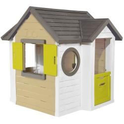 Smoby legehus - My Neo house - Grøn/brun