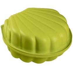 Smoby mini sandkasse med låg - Grøn