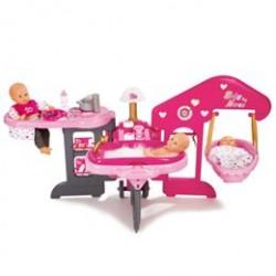 Smoby plejestation til dukker - Baby Nurse Baby House