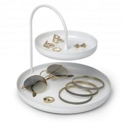 Smykkeholder i hvid - Poise Two