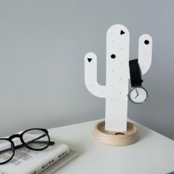 Smykkeholder kaktus - hvid