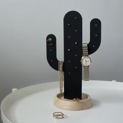 Smykkeholder kaktus - sort