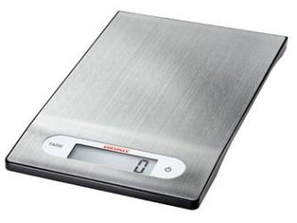 SOEHNLE Køkkenvægt Rustfri stål 21,3cm x 13,5cm x 1,4cm