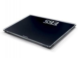 Soehnle Style Sense Comfort 500 Badevægt - Sort/glas