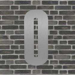 Sølv husnummer 40 cm - 0