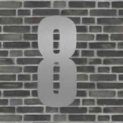 Sølv husnummer 40 cm - 8