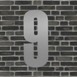Sølv husnummer 40 cm - 9
