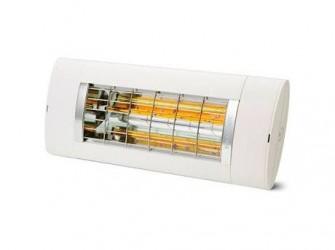 Solamagic Premium+ 1400 Terrassevarmer - Dækker helt op til 14 m² - Tændes via kontakt - Hvid