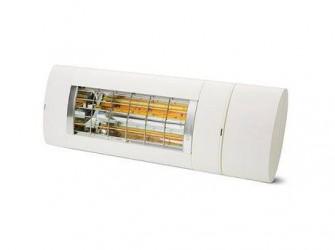 Solamagic Premium+ BTC 2000 Terrassevarmer - Dækker helt op til 17 m² - Juster varmen med din smartphone - Hvid