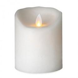 Sompex LED-stearinlys - LeveLys - Frosthvid - H 10 cm