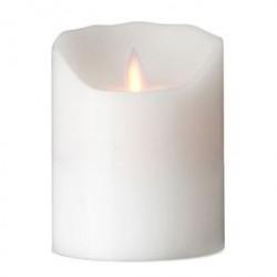 Sompex LED-stearinlys - LeveLys - Hvid - H 12 cm