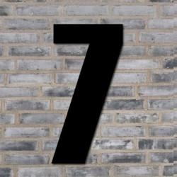 Sort husnummer 40 cm - 7