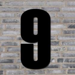 Sort husnummer 40 cm - 9