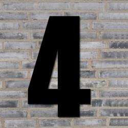 Sort husnummer 70 cm - 4