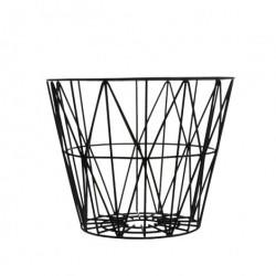 Sort wire basket (mellem)