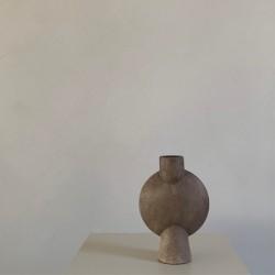 Sphere Bubl Vase Mini Taupe