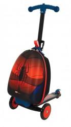 Spiderman 3-i-1 Løbehjul og Kuffert
