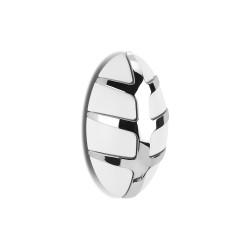 SPINDER DESIGN Bug knagerække - hvid plastik og sølv stål