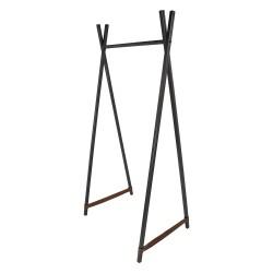 SPINDER DESIGN Groove Blacksmith tøjstativ - læder og stål