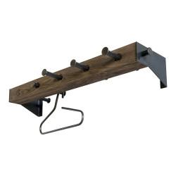 SPINDER DESIGN rektangulær Klos Blacksmith knagerække - stål