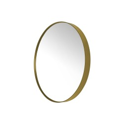 SPINDER DESIGN rund Donna vægspejl - spejlglas og guld stål (Ø60)