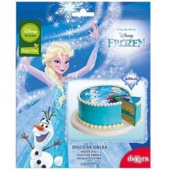 Spiseligt papir Frozen