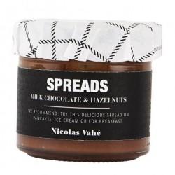 Spreads m/lys chokolade & hasselnØdder