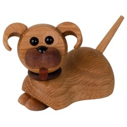 Spring Copenhagen træfigur - Coco hundehvalp