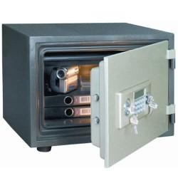 Staco brandsikret værdiskab med elektronisk lås - M