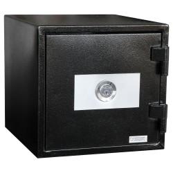 Staco brandsikret værdiskab med lås - S