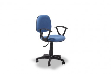 Star blå kontorstol