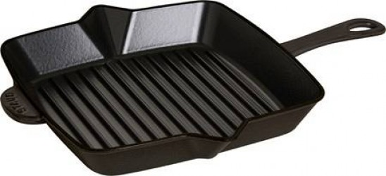 Staub American grill 26 x 26 cm sort