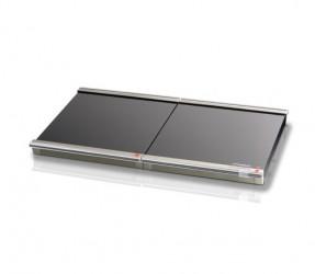 Steba Wp1 Black/chrome 2 X 135 Watt Varmeplade