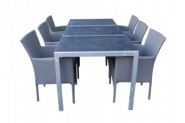Steen Cebu Granit Havemøbelsæt - Grå