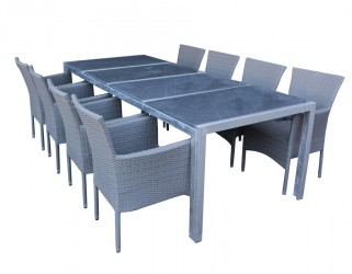 Stine Cebu Granit Havemøbelsæt - Grå