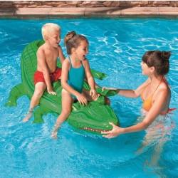 Stor Krokodille som badedyr til de større børn