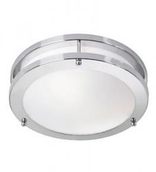 Täby LED Loftslampe Krom/hvid