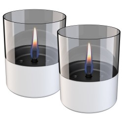 Tenderflame lanterner - Lilly - Hvid - 2 stk.