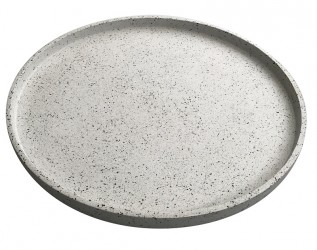 Terrazzo Bakke Ø55 cm - Hvid
