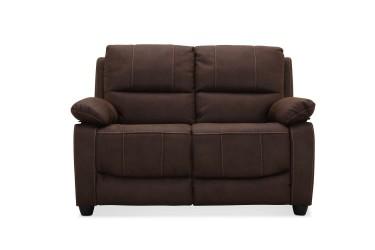 Texas brun 2 pers. sofa