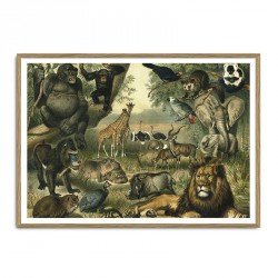 The Dybdahl Co. African Fauna Plakat