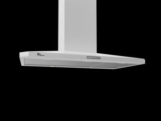 Thermex Decor 787 90 cm hvid u/motor