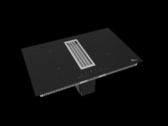 Thermex Hood In Hob Kogeplade Kogeplade Med Indbygget Emhætte - Sort/glas