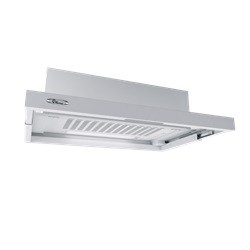 Thermex Slimline 600 60 cm hvid/sort/RF front