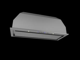 Thermex Tfm 480, 72 Cm, Rf, M/motor Indbygningsemhætte - Rustfrit Stål