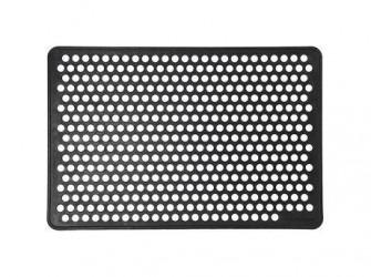 Tica Copenhagen Dot Dørmåtte - B 60 x D 90 cm - Gummi - Sort